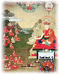 Self-portrait of the 8th Tai Situpa, the Palpung Founder